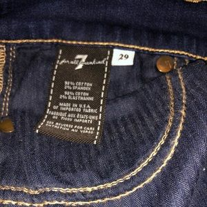 "7 For All Mankind Jeans - 7 for all mankind ""the Skinny"" 29"
